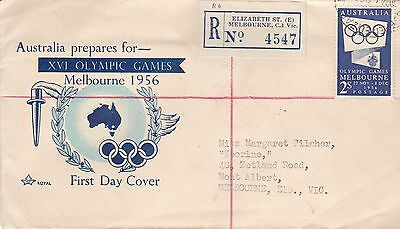 DC37) Australia 1954 XVIth Olympic Games Publicity
