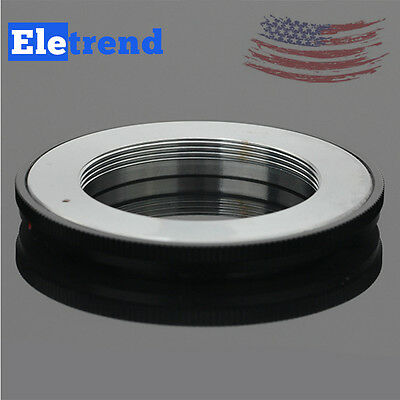 US Lens Adapter For M42 Scrw Mount to Canon FD F-1 A-1 T60 Film Camera