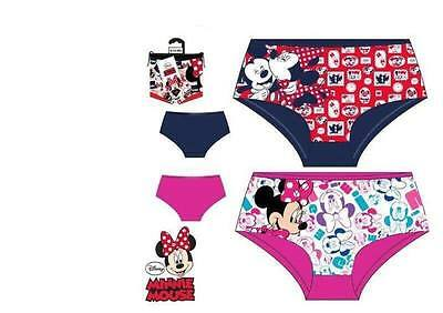 Set of 2 Panties Girls MINNIE MOUSE Colors Assorted HQ3031