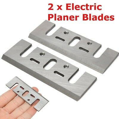 2x Electric Planer Spare Blades Replacement for Makita 1900B Power DIY Tool Part