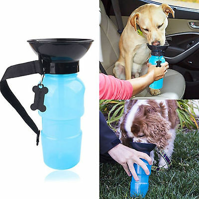 Pet  Dog Drink Mug Walking Hiking Puppy Dog Water Bottle