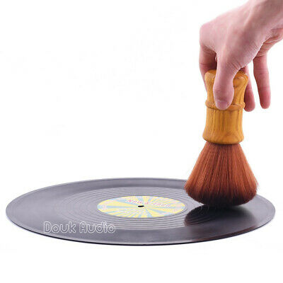 Turntable Vinyl Record LP Cleaning Anti-Static Stylus Dust Brush Cleaner Soft
