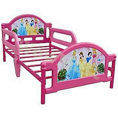 NEW Kid Furniture Steel Frame Toddler Girl Bed Princess