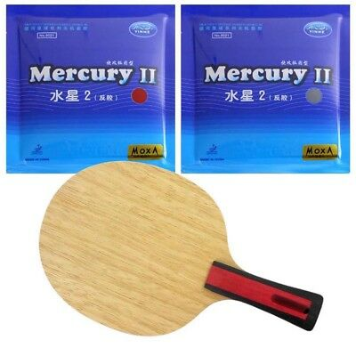 Mercury Tennis Rubber for Table Tennis Rackets Blade Racquet Ping-pong New