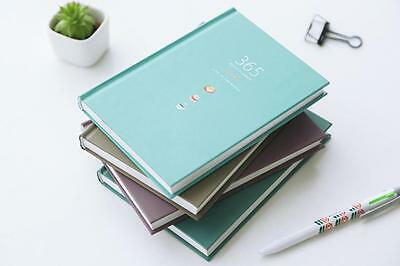 A5 Paper Journal Year Planner Daily Schedule Personal Diary Week Agenda Notebook
