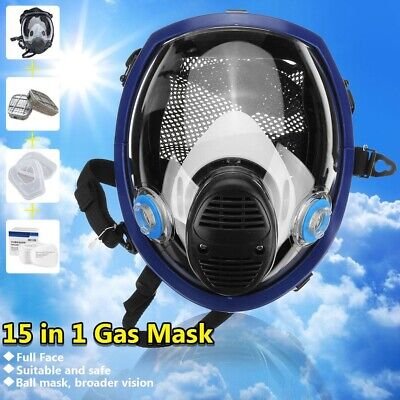 15 In 1 Facepiece Respirator Painting Spraying For 3M 6800 Full Face Gas Mask AU