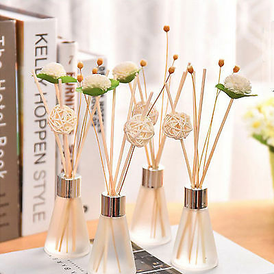 7 Scent MOOD THERAPY Glass Bottles Fragrance Scented Oil Reed Diffuser Sets Kits