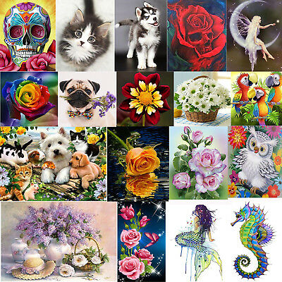 5D DIY Diamond Rhinestone Embroidery Painting Home Decor Craft Kit Cross Stitch