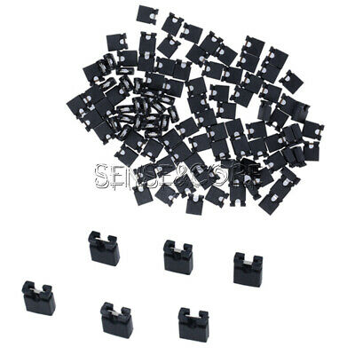 100PCS Pitch jumper shorted cap&Headers & Wire Housings 2.54MM SHUNT