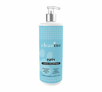 Cleanine Multi Breed Puppy Baby Powder Dog Shampoo & Conditioner