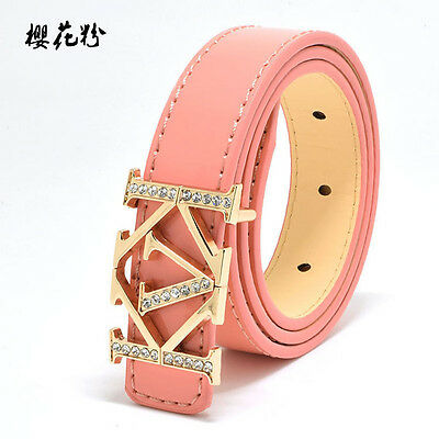 New Childrens Belts Funky Lether Belts Boys Girls Look Belt Kids Belts