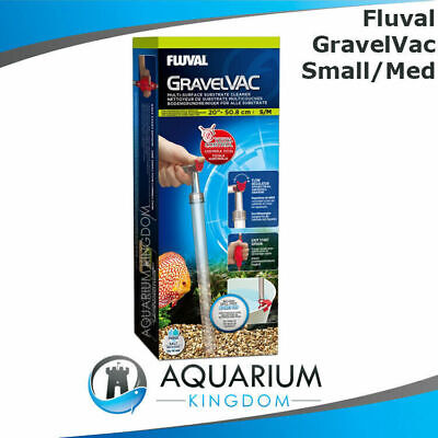 Fluval Gravel Vac Multi -Small/Medium - Aquarium Substrate Cleaner Vacuum Siphon