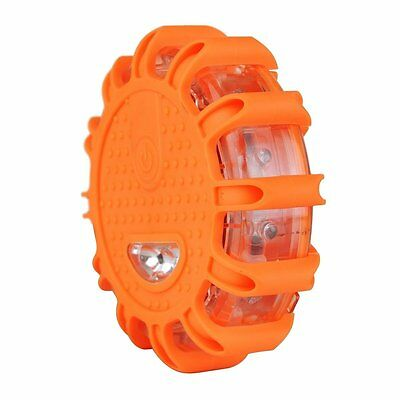 LED Road Flare Flashing Warning Light Roadside Emergency Magnetic Base Car Boat