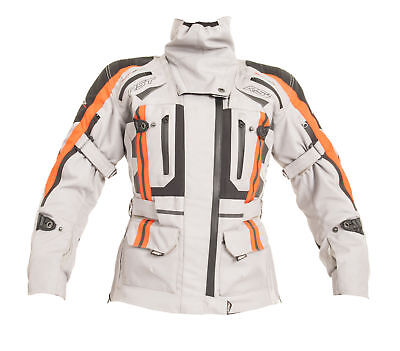 RST Pro Series 1426 Paragon V Ladies Motorcycle Jacket- Silver
