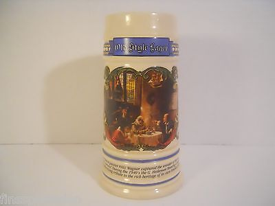 Vintage 1991 OLD STYLE Limited Edition House Of Wiebracht Advertising Beer Stein
