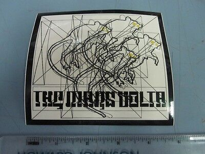 The Mars Volta 4 Rats promotional sticker 2003 New Old Stock Flawless Condition