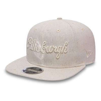 Gorra New Era 9Fifty Mlb Pittsburgh Pirates Basket Beige Hombre