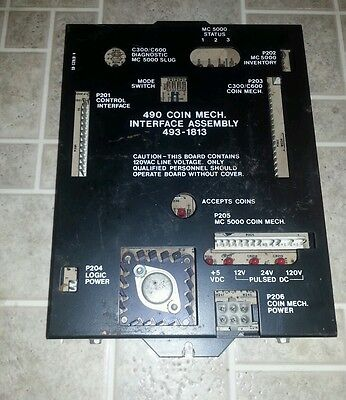 Rowe 490 Coin Mech Interface Assembly 493-1813