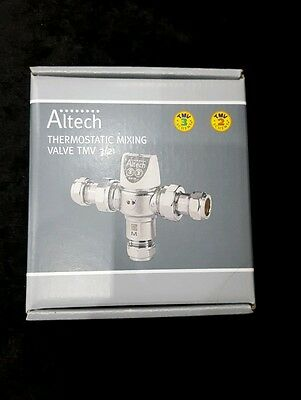 ALTECH 15 MM TMV2/ 3 DO8 THERMOSTATIC MIXING VALVE new