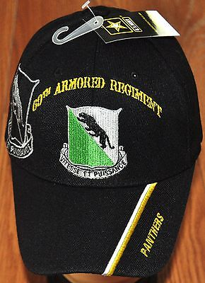 0f8ea993c New 69th Armored Regiment Army Hat Ball Cap Vitesse Et Puissance Panthers
