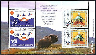 Greenland 1993 Anniversaries  SG.MS254  Used