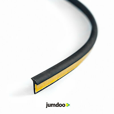 Rubber welting trim gasket fender flare Rublok Black 3.5m 11.5ft for a pair
