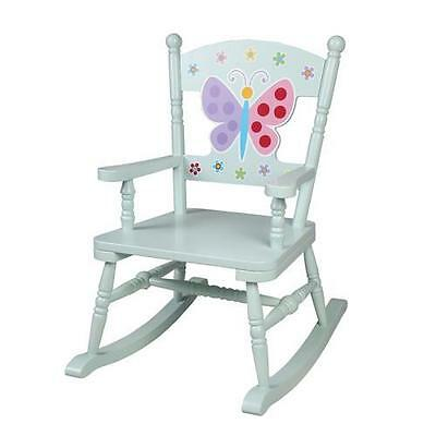 Olive Kids Butterfly Garden Rocking Chair