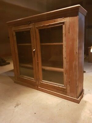 Old Pine Wall Cupboard