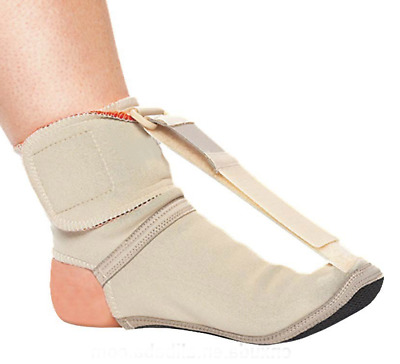 Plantar Fasciitis Night Splint Sock Soft Adjustable Foot & Toe Insole Arch Brace