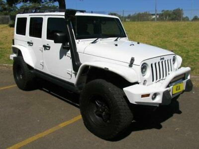 2013 Jeep Wrangler Unlimited JK MY13 Sport (4x4) White Automatic 5sp A Softtop