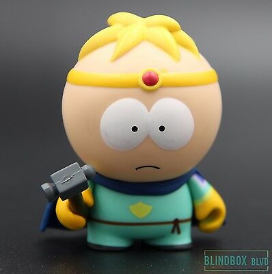 """Butters (Paladin) - Stick of Truth South Park Series by Kidrobot 3"""" Vinyl"""