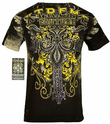 XTREME COUTURE by AFFLICTION Men T-Shirt SALVATION Tattoo Biker MMA UFC S-4X $40