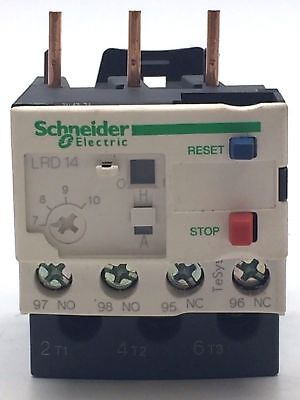 Schneider LRD14 Thermal Overload Relay 7 - 10A 034681 Class 10A