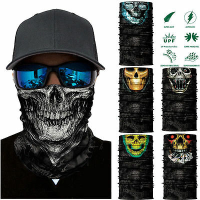 Clown Cycling Motorcycle Neck Tube Ski Scarf Face Mask Balaclava For Halloween*