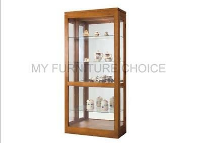 Tas Oak China Display Cabinet