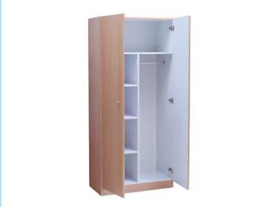 Missini Combo Wardrobe in Beech, Walnut, White