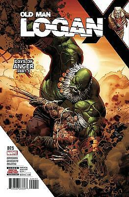 OLD MAN LOGAN #25 Marvel Now Comics NM  6/14/2017