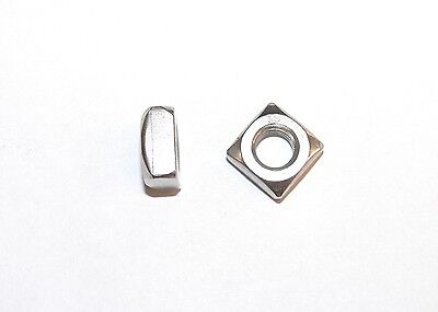 Square nuts M5, 6, 8, 10 Stainless steel , DIN 557 , Square Nut, nut