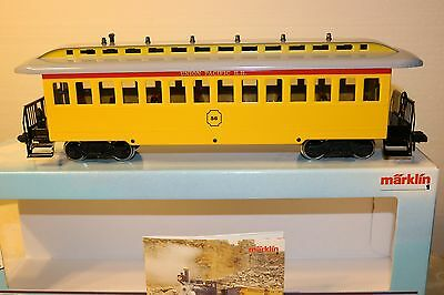 Marklin Maxi Metal Union Pacific Rr Passenger Car #56 - Longer Version