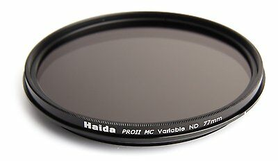 Haida 77mm PRO II (PROII) Variable Neutral Density Filter ND2-ND400 ND VND