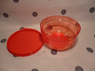 Tupperware Spare Red Turbo Chef Base with Seal New!