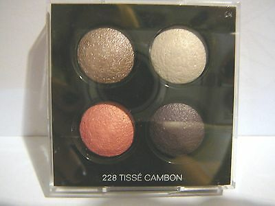 Chanel Les 4 Ombres Quadra Eye shadow No.228  Tisse Cambon Full size, refill