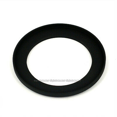 black 43mm-46mm 43-46 mm Step Up Filter Ring Adapter