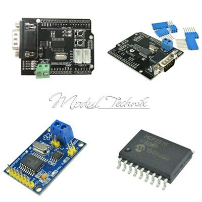 CAN Bus Shield MCP2515 TJA1050 EF02037 Receiver SPI Controller IC For Arduino