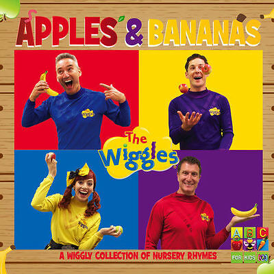 The Wiggles Apples & Bananas: A Wiggly Collection Of Nursery Rhymes CD ABC KIDS