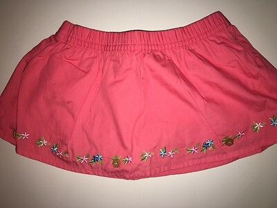 Gymboree 2T Girls Summer Island Fun Skirt Skort Bloomers NWT NEW Free Ship Twins