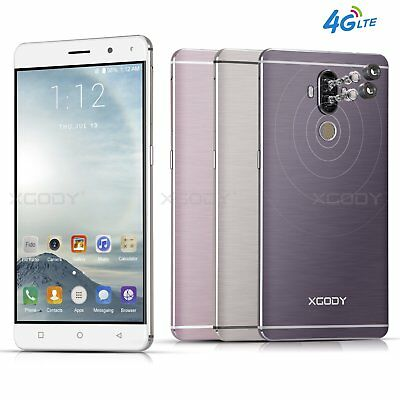 """4G LTE 6"""" Android 7.0 Mobile Smartphone 16GB 13MP Factory Unlocked 4 core XGODY"""