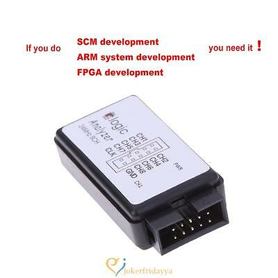 USB Logical SCM 24MHz 8 CHChannel Logic Analyzer Debugger for ARM FPGA MCU UK