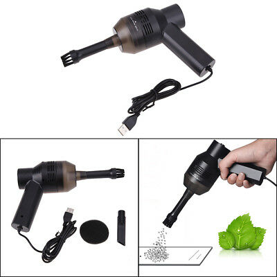 Portable Mini USB Laptop Computer Keyboard Vacuum Cleaner Brush Dust Collector