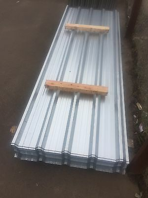 8ft box profile galvanised roofing sheets